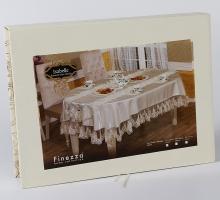 "Скатерть с салфетками раннером  ""FINEZZA"" ISABELLE 170x240 см"